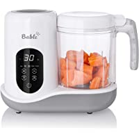 Bable Baby Food Maker for Infants and Toddlers- 6 in 1 Multifunctional Food Processor Mills with Steam, Blend, Chop…