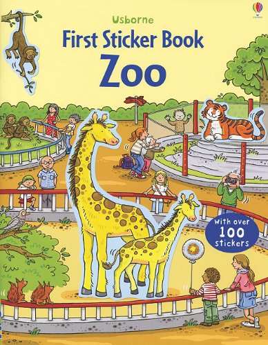 Zoo (Usborne First Sticker Book)