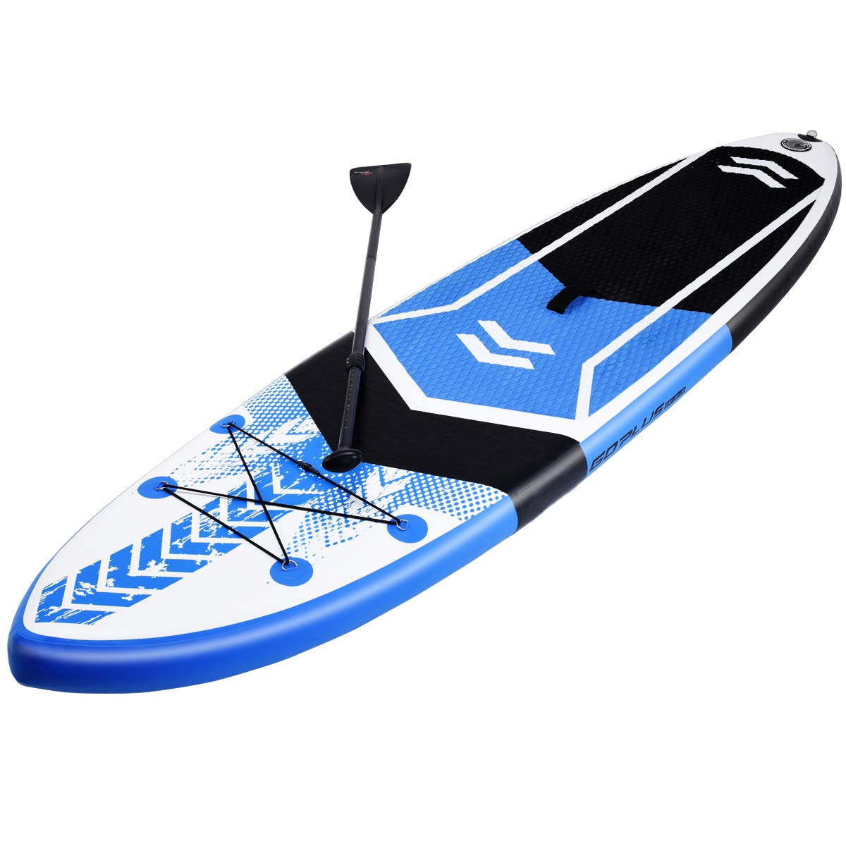 Amazon.com : GYMAX Paddle Board, 10.5 Inflatable Stand Up ...