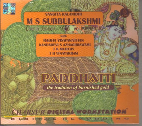 Paddhatti - The Tradition Of Burnished Gold - M S Subbulakshmi, Live In Concert 1966 Vol I, II And III (3-CD Pack)