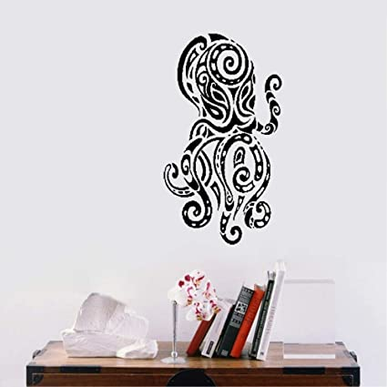 a47fd476e Amazon.com: Duertz Removable Vinyl Wall Stickers Act Mural Decal Art ...