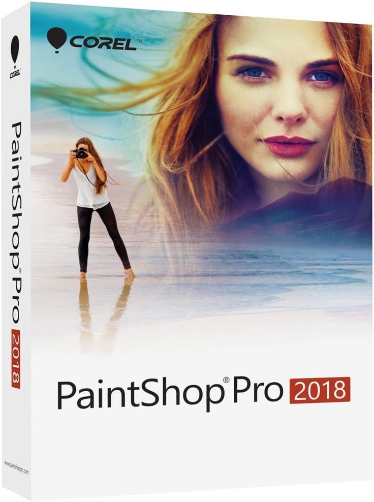 Amazon Com Corel Paintshop Pro 2018 Photo Editing And Graphic Design Suite For Pc Old Version