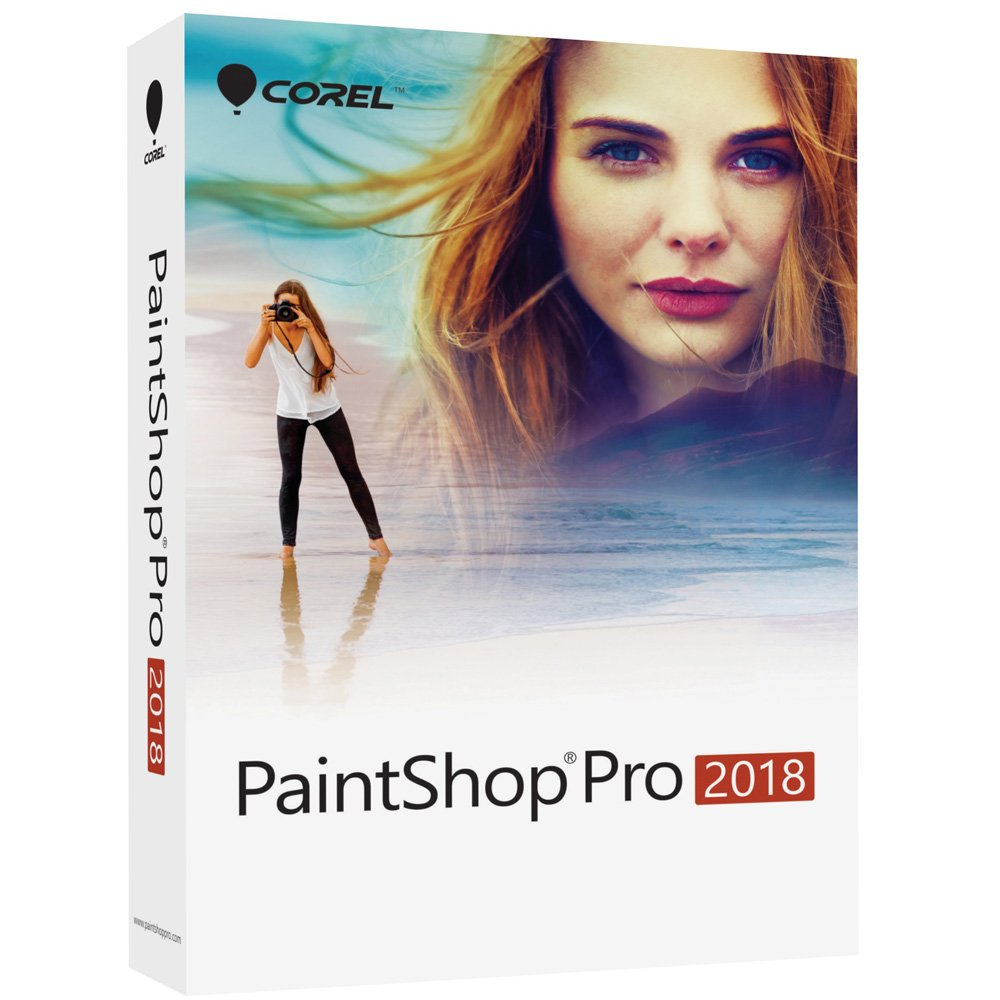 Corel PaintShop Pro 2018 Photo Editing and Graphic Design Suite for PC (Old Version) by Corel