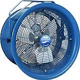 """Ventilador de alta velocidad Patterson Fan H18A, Montaje de yugo, Monofásico, 3 hojas, 18 """"de diámetro, 115 voltios, distancia de tiro de aire de 80 pies"""