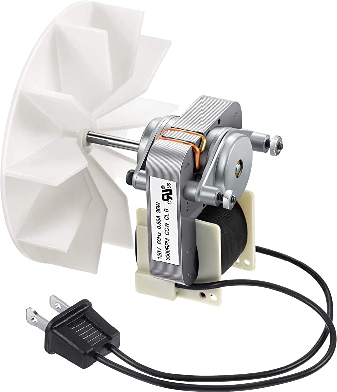 Universal Bathroom Vent Fan Motor Replacement Electric Motors Kit  Compatible with Nutone Broan 50CFM 120V - - Amazon.comAmazon.com