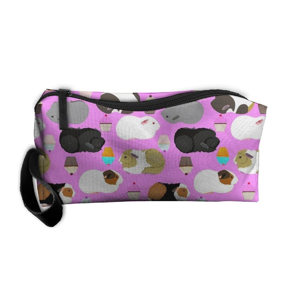 a0c81aada1 Guinea Pigs And Cupcakes Cosmetic Bag - Make Up Organizer - Lightweight  Toiletry Travel Bag 60