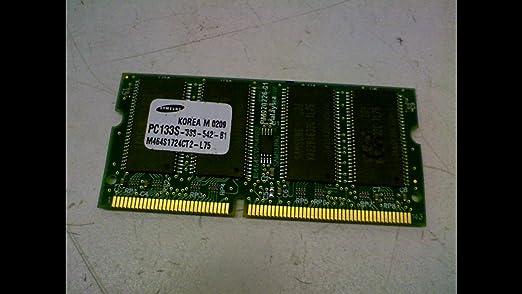 Amazon.com: Samsung pc133s-33s-542-b1 tarjeta de memoria ...