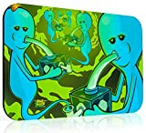 10x16 inch XXL Rick and Morty Dab Mat - Eternity of Meeseeks - Mousepad Style Dabmat | Dabpad | Rigmat | Dabmatz