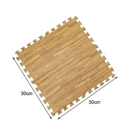 Amazon.com: Alfombrilla de suelo de madera de grano Mokylor ...