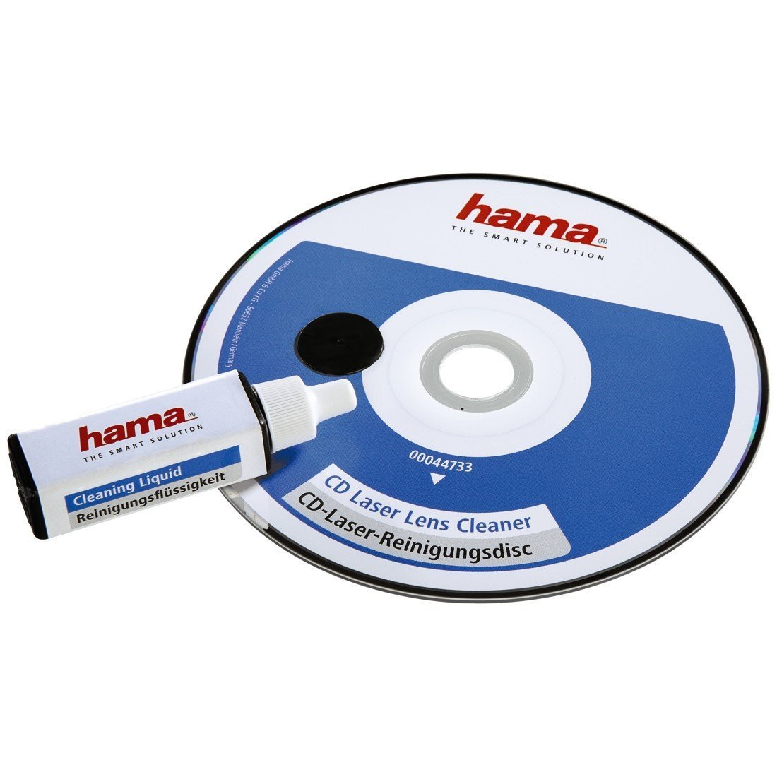 Hama CD Lens Cleaning Disc with Cleaning Fluid [44733] by Hama