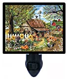 Night Light - Bountiful Meadows Farm - Country - Barn - Rooster