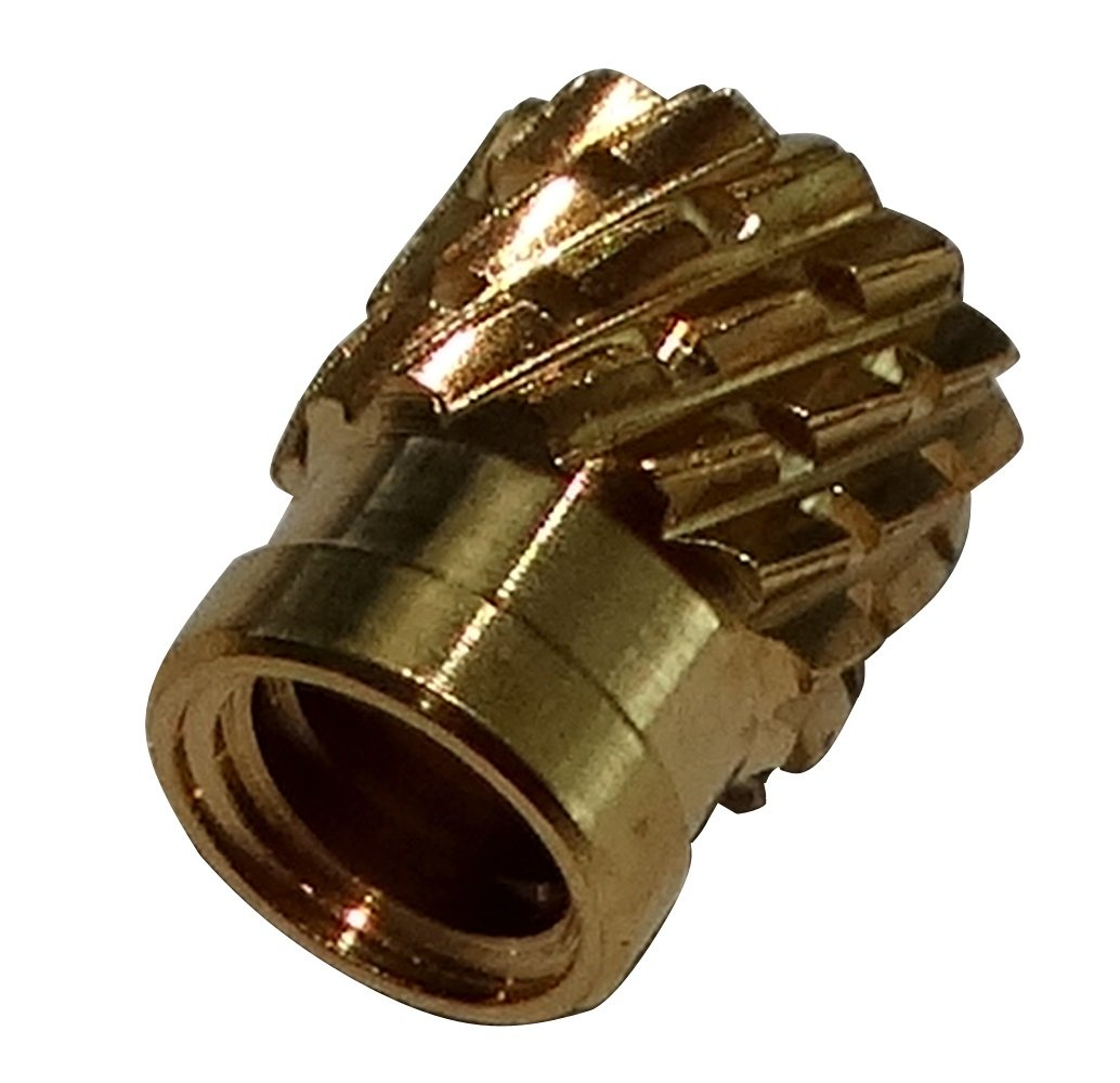 AERZETIX: 10x Tuercas insertos laton para plastico termoestable rosca M3 5.3mm C19126 C19126-AQ105 x10