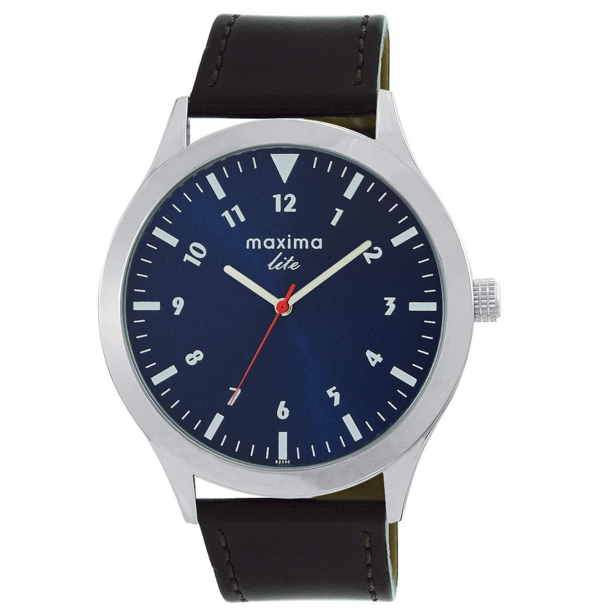 Maxima Analog Blue Dial Men's Watch – L62380LMGI