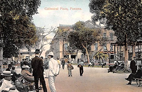 Cathedral Plaza Panama Postcard