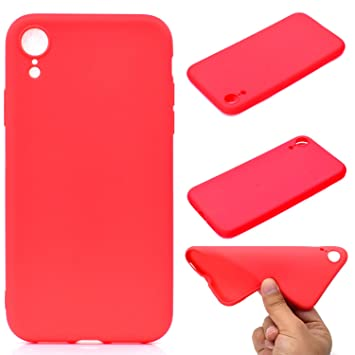 coque iphone xr rouge fille