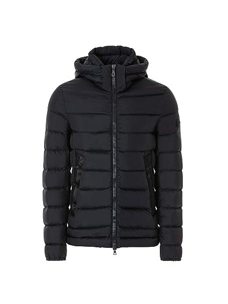Peuterey - uomo FIDDLER CJ 01 215 giacca piumino blu con cappuccio - 27504  - S d9e4a573e10