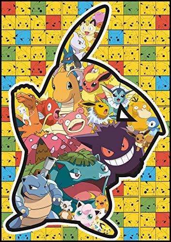 - Buffalo Games - Pokémon - Pikachu Silhouette - 500 Piece Jigsaw Puzzle