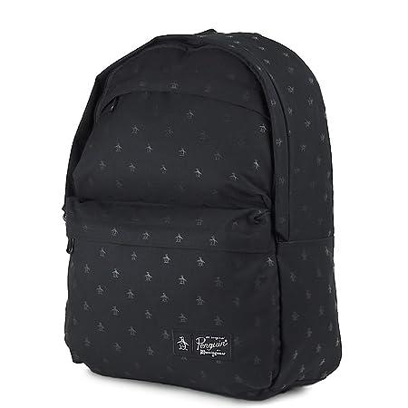 2f41341da011 ORIGINAL PENGUIN Chatham Backpack Black 11138 Schoolbag ORIGINAL PENGUIN  Bags  Amazon.co.uk  Luggage