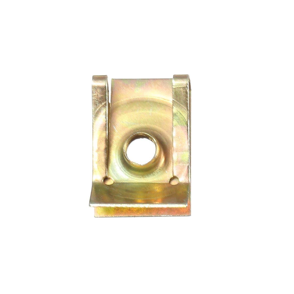 ILS M5 5mm Tread Panel Mounting Clamp Spire Lug Nut Fairing Clip Fastener Speed Zinc