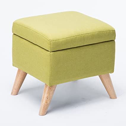 Amazon.com: RKY Solid Wood Storage Stool Shoe Bench Foyer ...