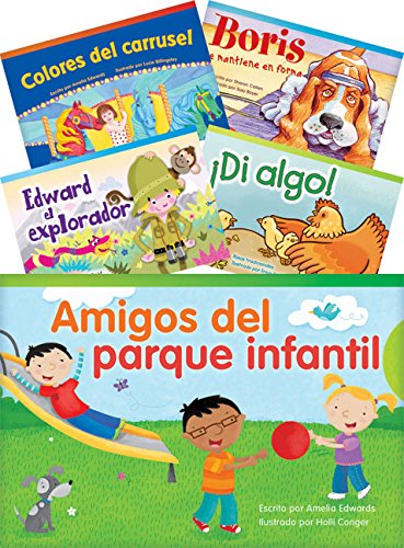 Teacher Created Materials - Classroom Library Collections: Literary Text Readers (Spanish) Set 2 - 10 Book Set - Grade 1 - Guided Reading Level A - I (Caterpillar Antennae)
