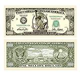 Set of 10,000 - Traditional Million Dollar Bill