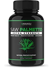 Saw Palmetto Supplement for Prostate Health - Supports Those with Frequent Urination - Supports DHT Blocker & Hair Loss Prevention - Gluten Free Non-GMO 100 Capsules (A.M.)