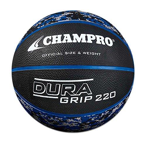 CHAMPRO Rubber Basketball, Camo Royal, Size 28.5 ()