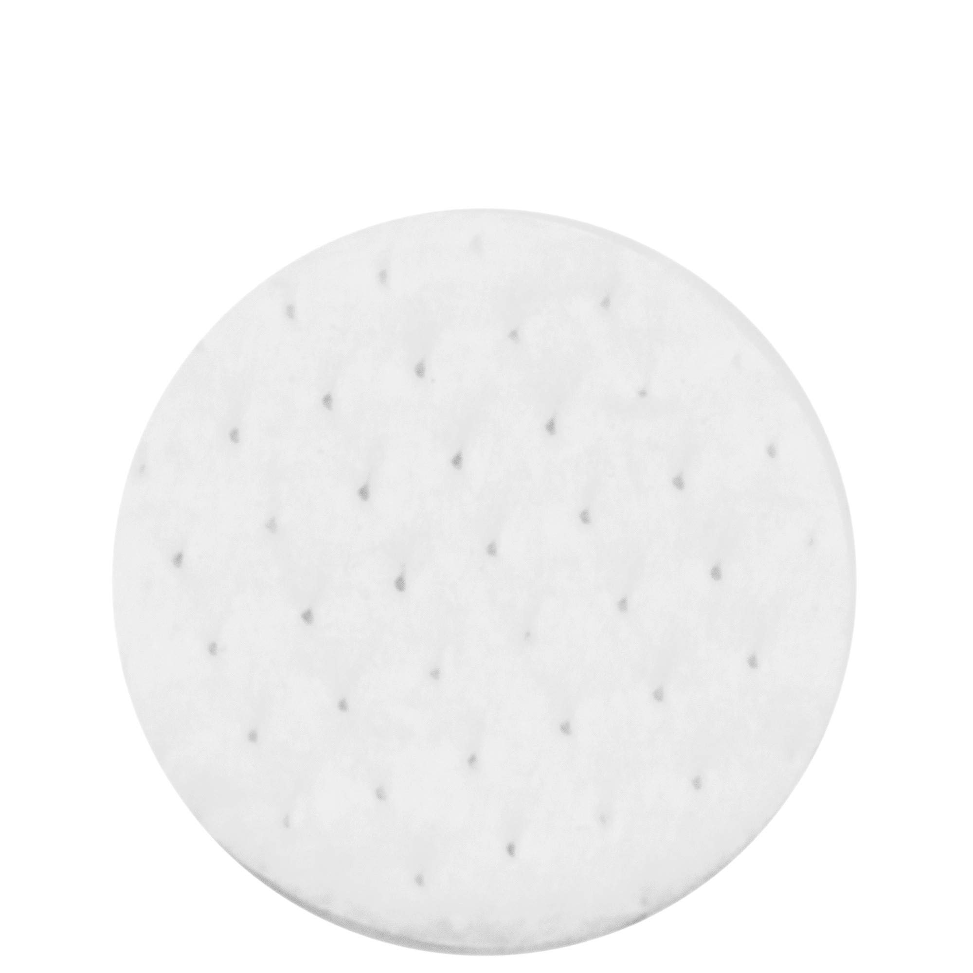 DecorRack Cotton Rounds, 1000 Count Makeup Remover and Facial Cleansing Round Cotton Pads, Waffle Textured Hypoallergenic 100% Natural Cotton Wipes (1000 Pack)