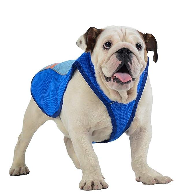 Large Breathable Cooling Coat Outdoor Anti-heat Summer Jacket Pet Guru Dog Cooling Vest