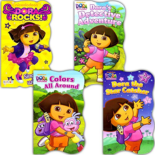 Board Explorer Dora The Game (Dora the Explorer Baby Toddler Board Books - Set of Four)