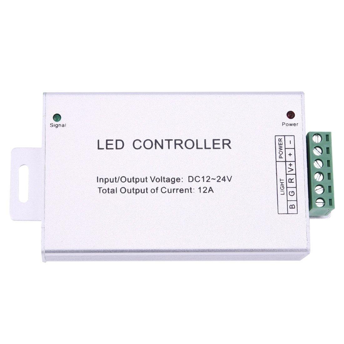 Iluminación Tres canales IR LED LED LED Control de carcasa de aluminio ajustable con control remoto IR, DC 12-24V Iluminación para ti 1e2f46