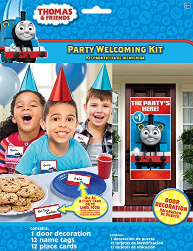 Thomas All Aboard Party Welcoming Kit, Party Favor -