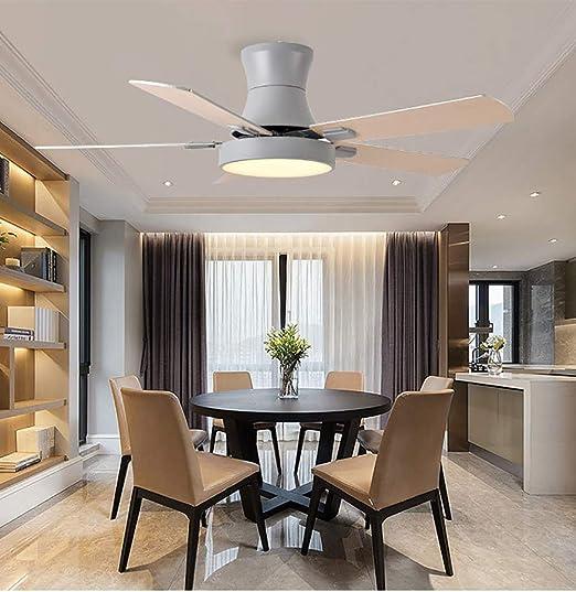 Luz LED de ventilador de techo, doble uso en invierno y verano ...