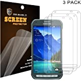 Mr Shield Samsung Galaxy S5 Active (G870) Premium Clear Screen Protector [3-PACK] with Lifetime Replacement Warranty