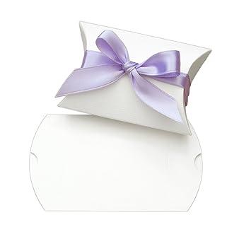 10x Kartonage Busta Weiß Für Gastgeschenke Basteln Hochzeit Diy