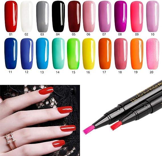 Bolígrafo de esmalte de uñas semipermanente, TM caliente, 1 unidad ...