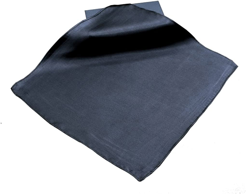 100/% Pure Silk Solid Pocket Square Handkerchief For Men Wedding Party Tuxedo Pocket Square