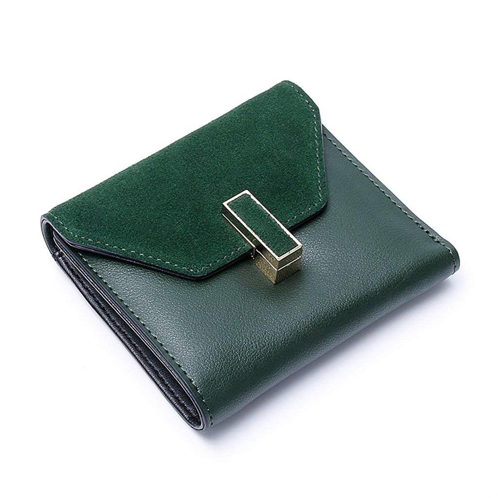 1 Cross Women's Leather Wallets RFID Blocking Vintage Design Large Capacity for Work (color    1)