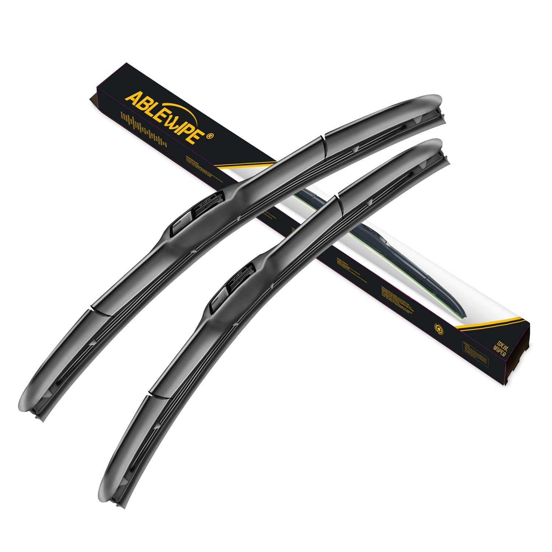 MOTIUM OEM QUALITY 22 /… Set of 2 17 Premium All-Season Windshield Wiper Blades,1 Year Warranty