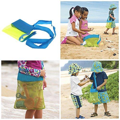EKugo (TM) a sabbia spiaggia bambino Shell Sacca di bambini di strumento borsa da passeggino tesori collezione Sacchetti
