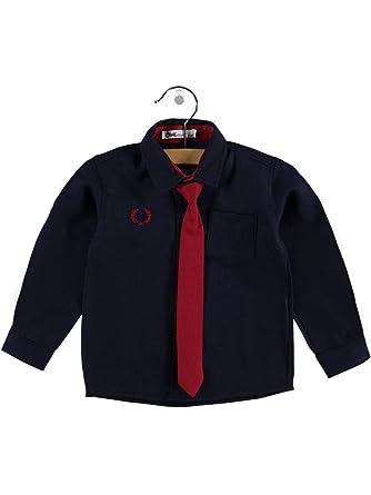 Civilim - Camisa Juvenil de algodón 100%, con Corbata, 2-5 años ...