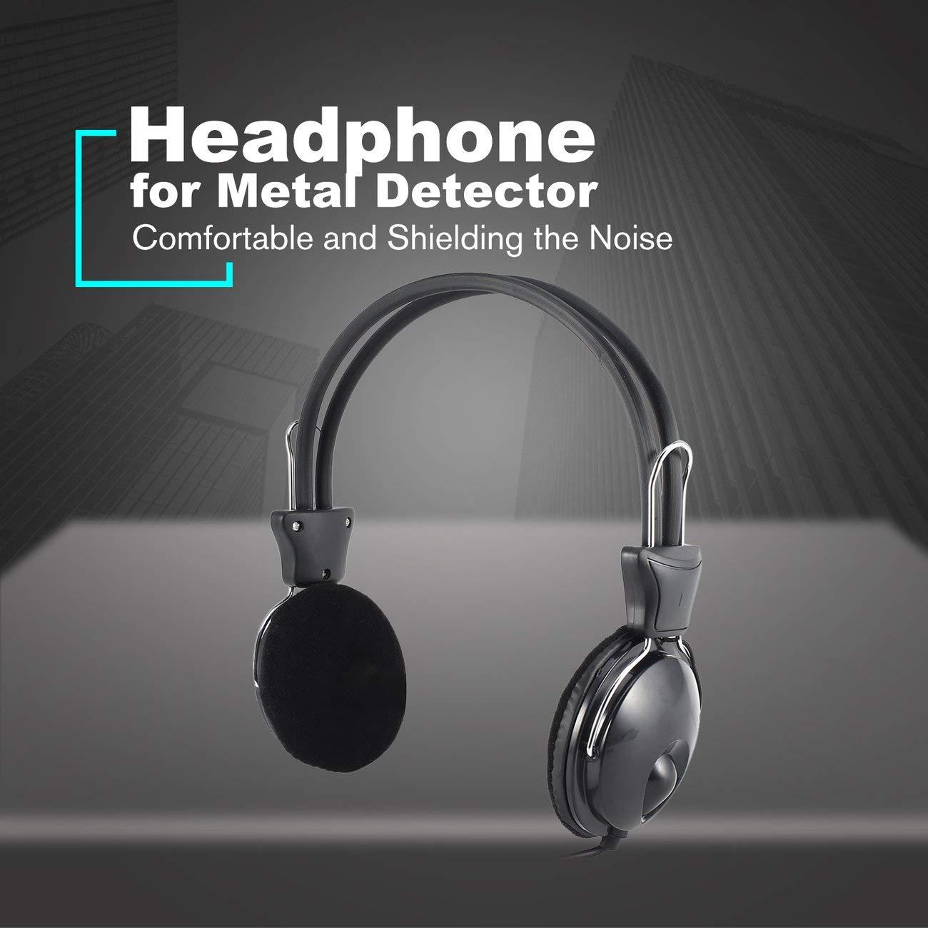 Jiobapiongxin Auricular Auricular para probador de Metales Detector de Oro Treasure Hunter Universal: Amazon.es: Jardín