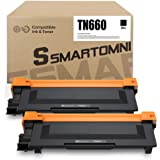 S SMARTOMNI Compatible TN660 Toner Cartridge Replacement for Brother TN 660 TN 630 for Brother MFC-L2700DW L2340DW L2300D L23