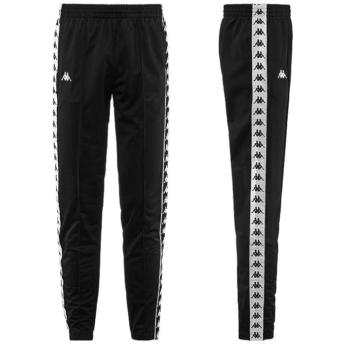 Kappa Blackwhite Uomo Astoria Slim 222 it Banda Pantalone Amazon pnwHvqp1x