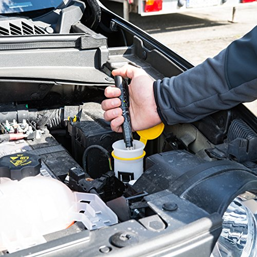 Ace bremsflüssigkeitstester con indicador LED, comprobador de líquido de frenos para comprobar la calidad la   bremstester para la seguridad de líquido de ...