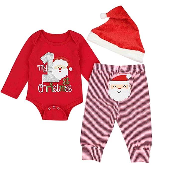 BBSMILN Disfraces De Navidad Bebes Niña Niño 3 Meses a 2 ...