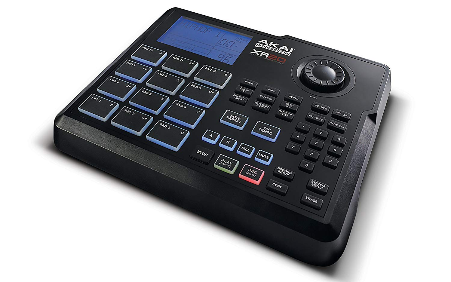 Akai Professional XR20 | Beat Production Station Drum Machine + Studio Headphones + Stereo Interconnect Cable & Clean Cloth by Akai (Image #6)