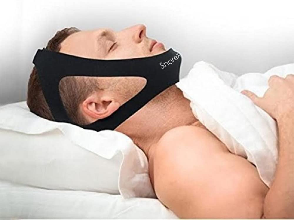 Professional Anti Snore Chin Strap Adjustable - The #1 Ranked Device Instant Snore Stopper: Health & Personal Care