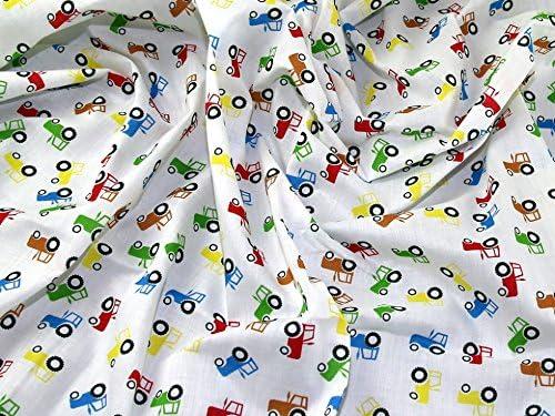 Tela por metros, multicolor, algodón y poliéster.: Amazon.es: Hogar